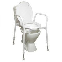 Homecraft Aluminium Over Toilet Frame. Click for more information...