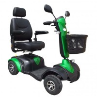 S745 Midi Electric Scooter (Green). Click for more information...