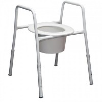 Over Toilet Frame (Toilet Seat Raiser). Click for more information...