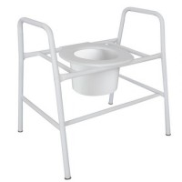 Bariatric Over Toilet Frame Fixed. Click for more information...